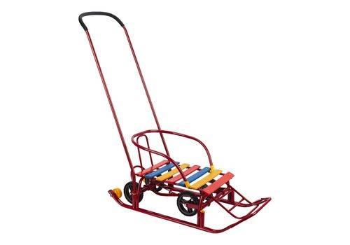 С какого возраста можно использовать санки-коляску