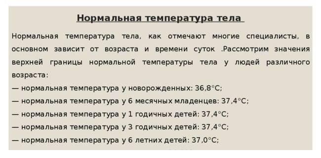 Температура 37 у грудничка