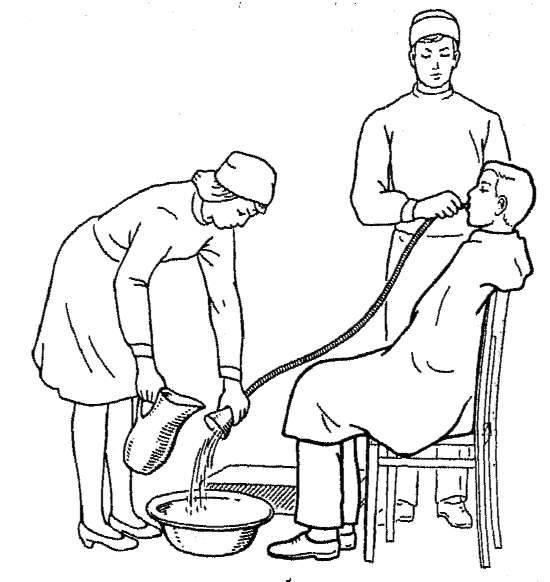 Промывание желудка у детей в домашних условиях