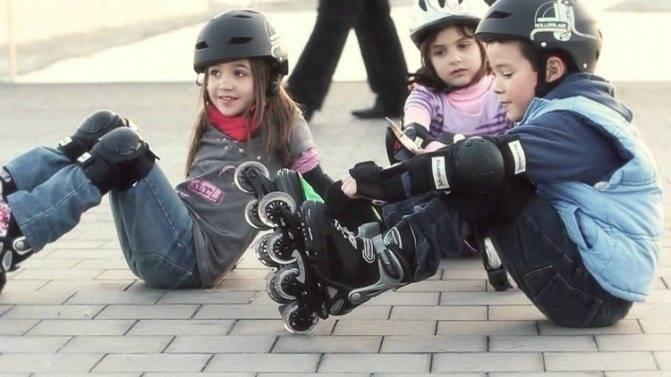 Как научить ребенка кататься на роликах в 5, 6 лет