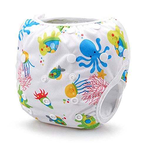 Подгузники для плавания в бассейне: многоразовые и одноразовые варианты   babynappy
