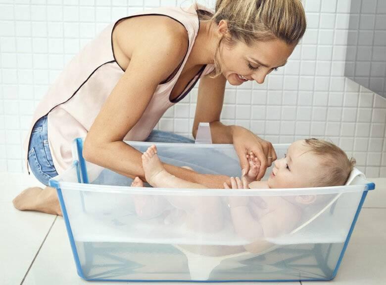 Новорожденный и старше: секреты купания малышей