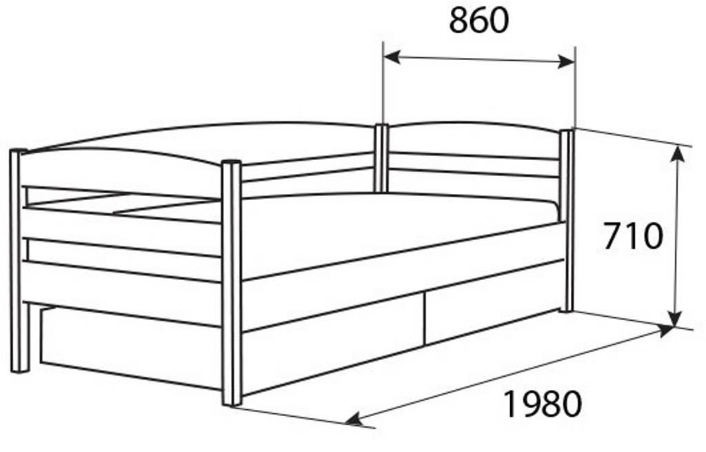 Размеры детских кроваток для новорожденных – выбираем свой