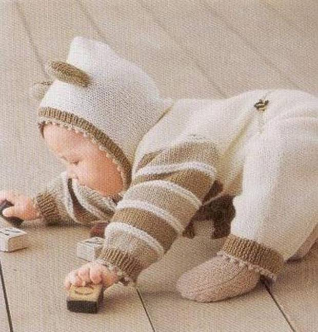 Носочки для новорожденных: описание для начинающих - сайт о рукоделии