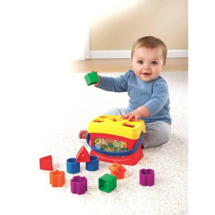 12 развивающих игр для детей до 1 года