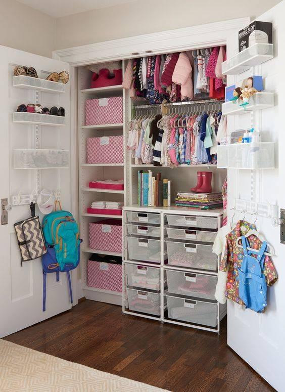 Как навести порядок в шкафу, чтобы в нём не копаться