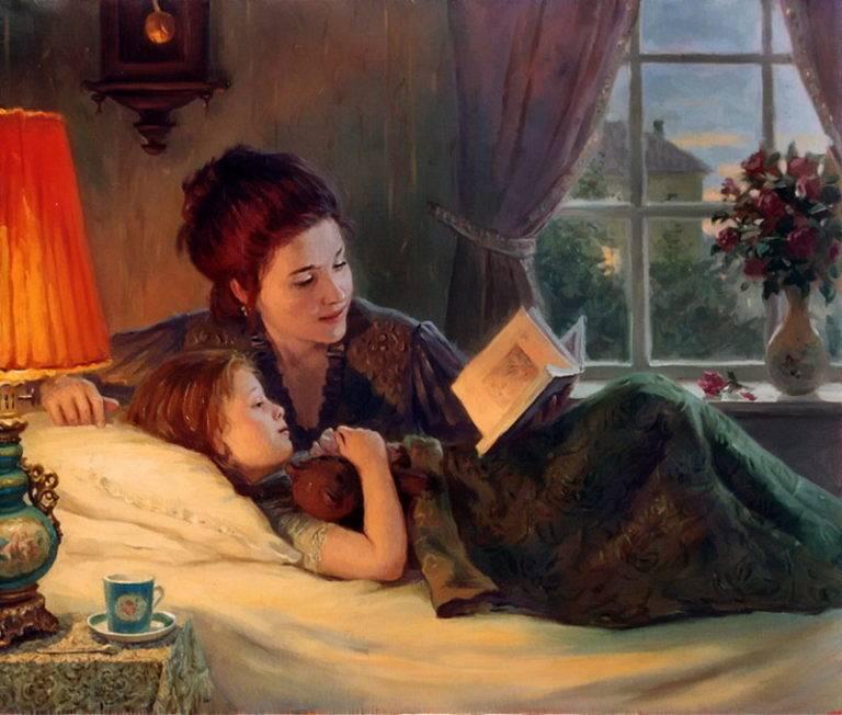 Стоит ли родителям читать книги детям в 7-10 лет