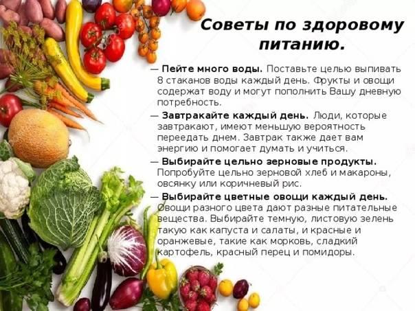 Правильное питание: почему оно важно, принципы и советы | 7spsy