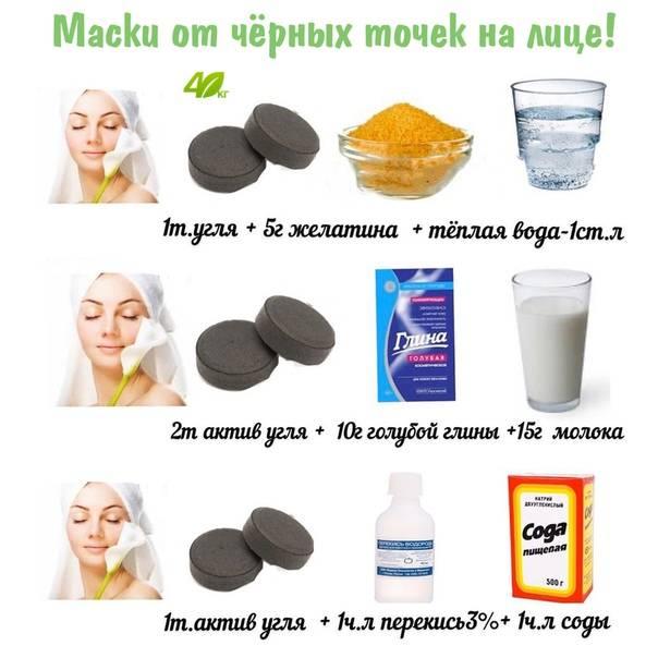 Рецепты масок от прыщей и черных точек для дома: как делать и какие использовать компоненты