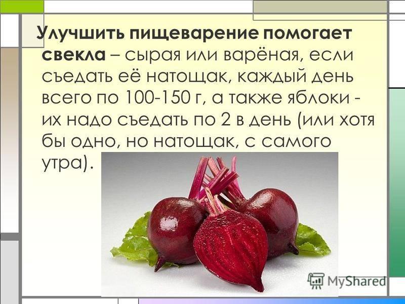 Свекла прикорм - энциклопедия детское питание