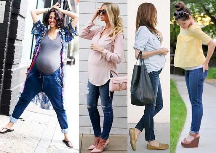 Как одеваться беременной женщине: фото и советы
