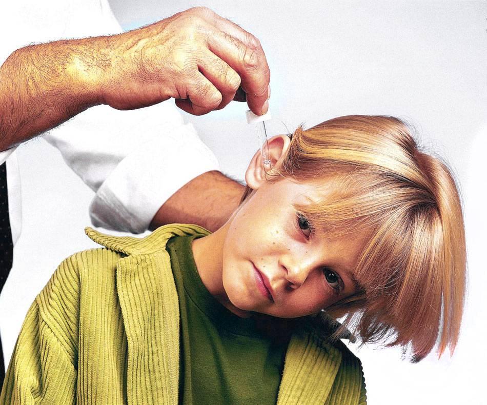Шум и боль в ухе — лечение ребенка