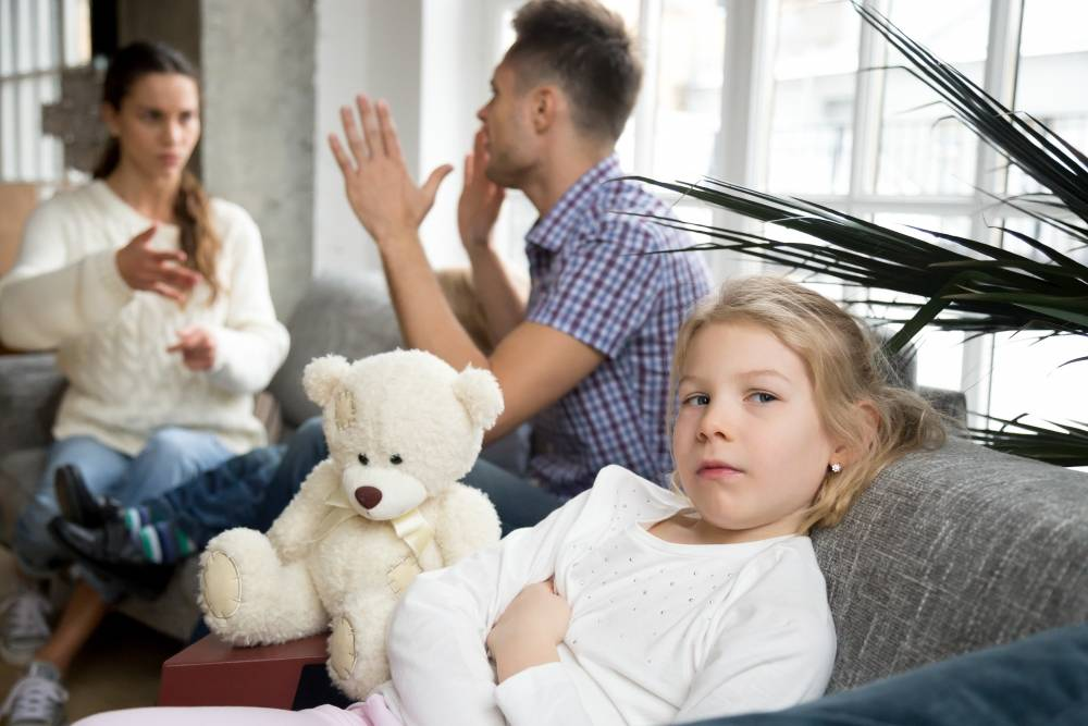 Скандал при детях – себе дороже. что чувствует ребенок? навыки общения
