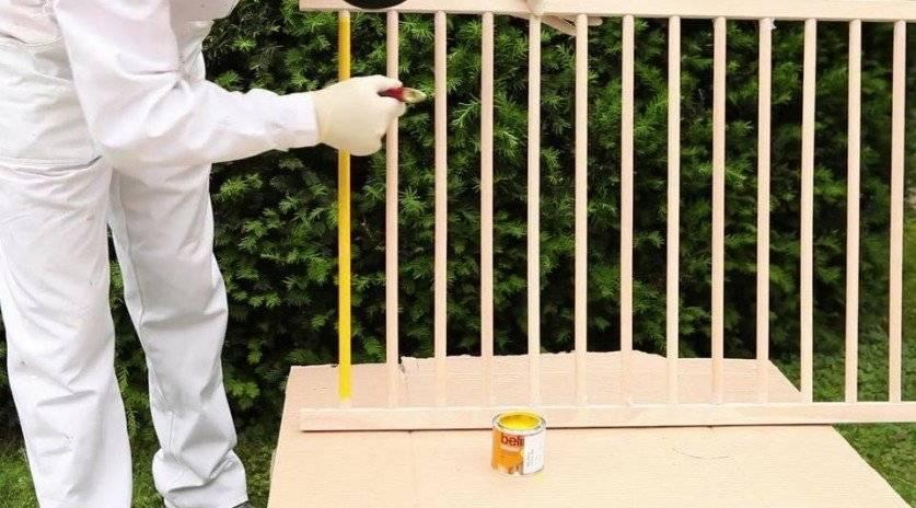Краска для детской кроватки — выбор и нанесение
