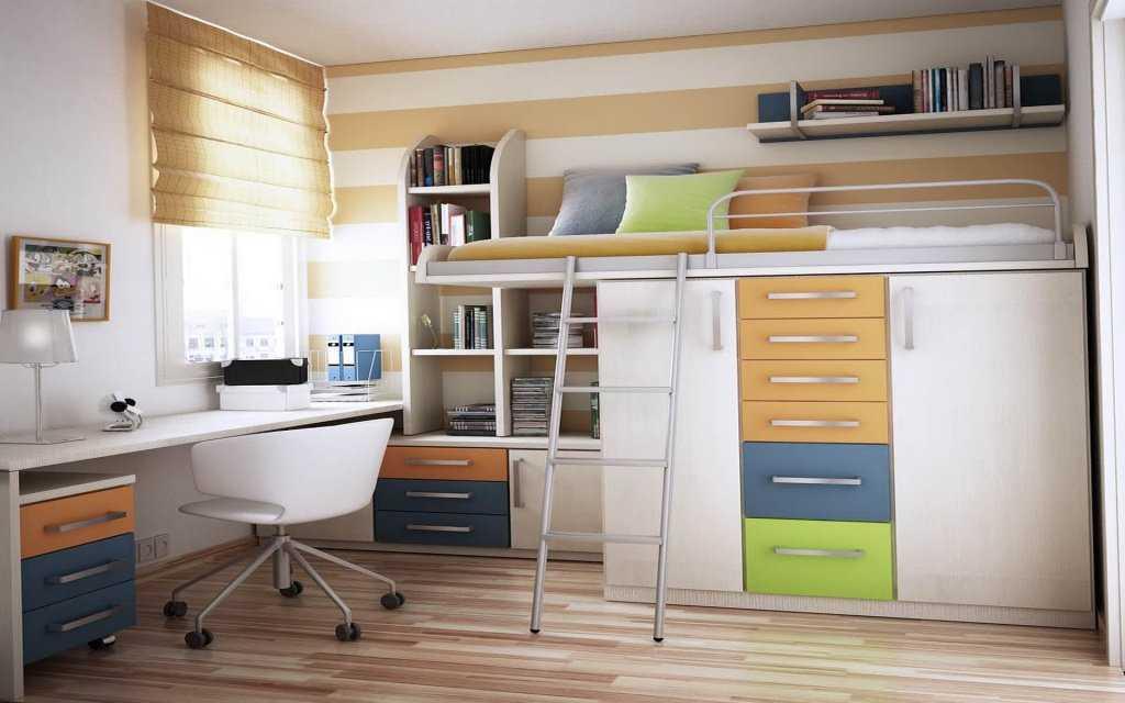 Как обустроить маленькую комнату: идеи дизайна, мебель, фото интерьеров