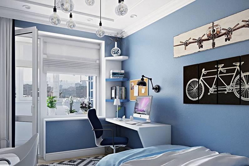 Комната для подростка — 50 новых идей, которые им точно понравятся