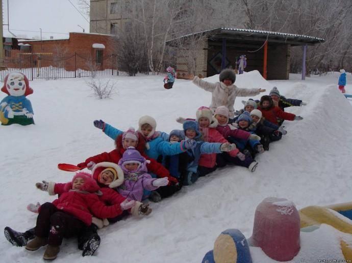 Русские народные зимние игры для дошкольников: вспомним родные традиции