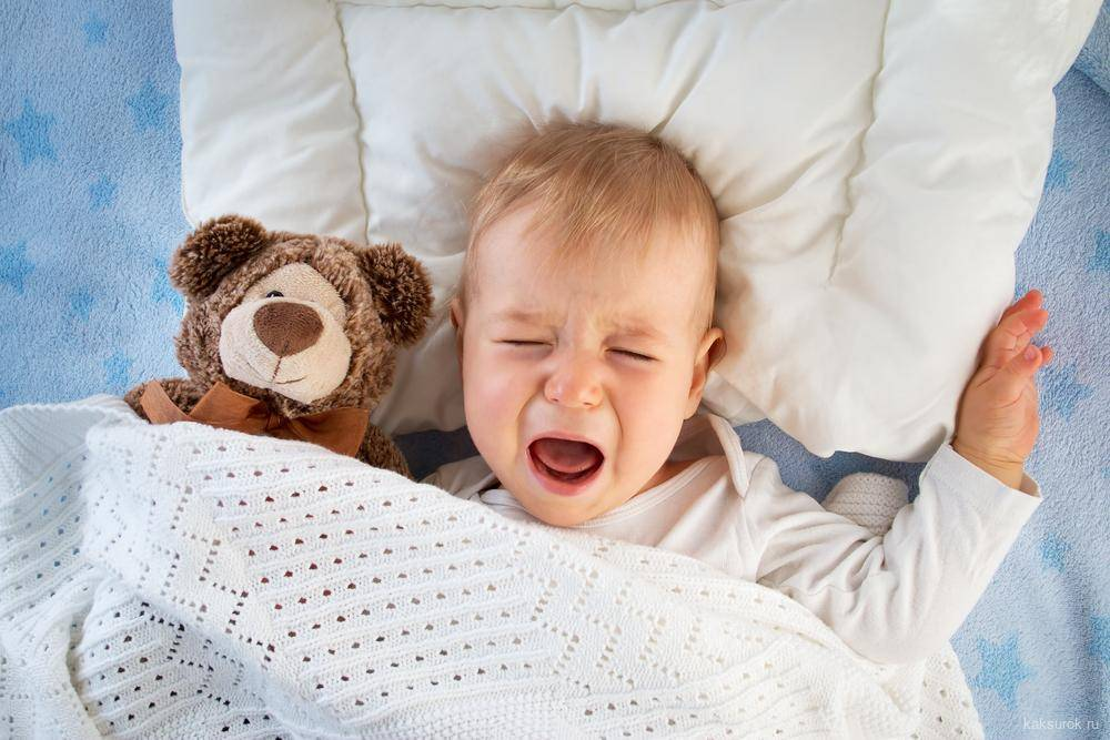 Почему малыш плачет во сне