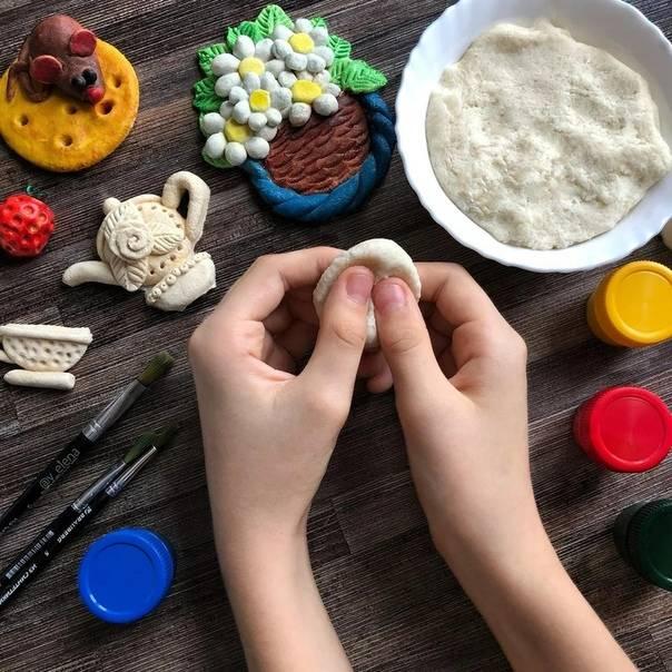 Простые рецепты соленого теста для лепки своими руками