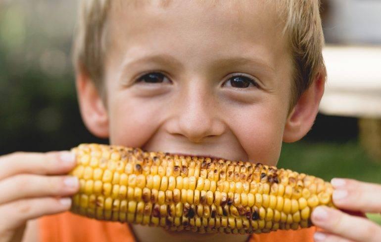 Кукуруза детям: с какого возраста давать? особенности введения и приготовления продукта