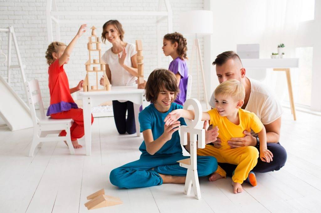 Воспитание в многодетной семье | 7 правил