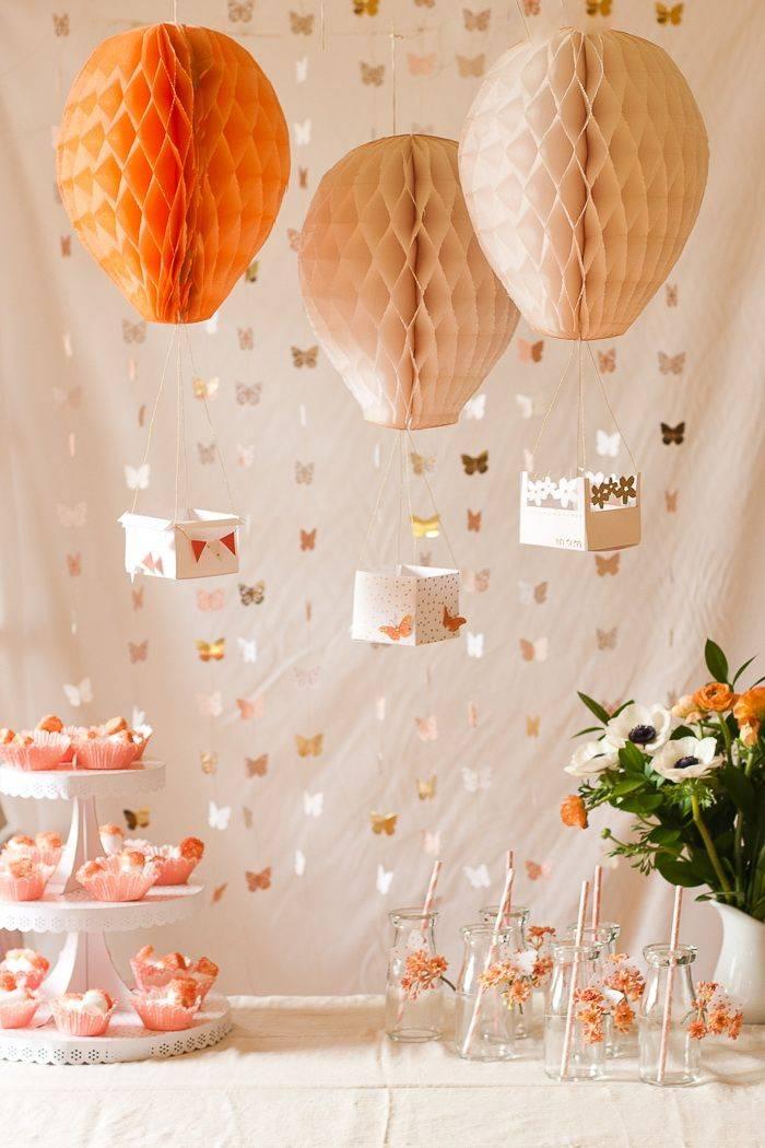 Как украсить комнату на день рождения ребенка - фото и видео оформления детской комнаты к празднику