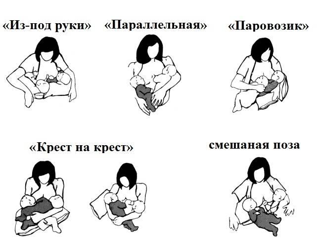 Позы для кормления грудью: лучше позы при гв на сайте твой малыш