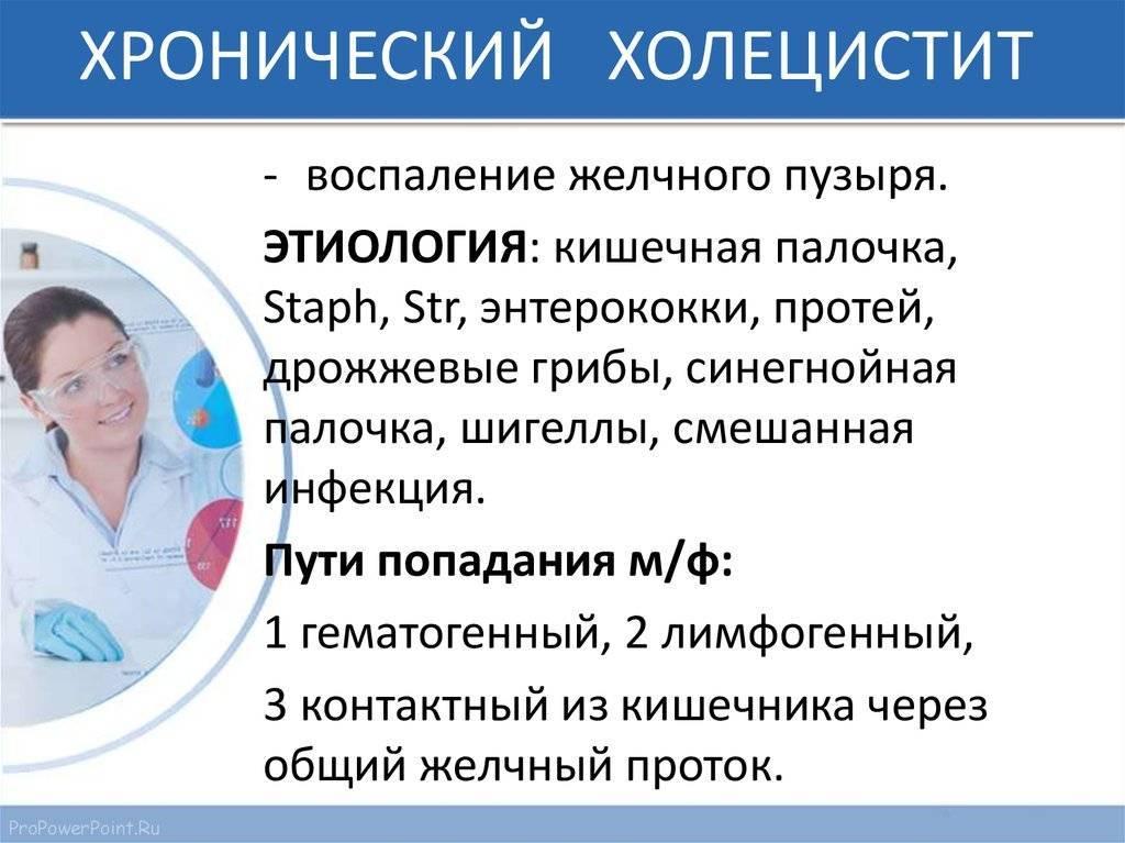 Сюрпризы желчного пузыря