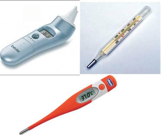Где и как мерить температуру новорожденному грудничку правильно (как померить и измерить у грудного ребенка)