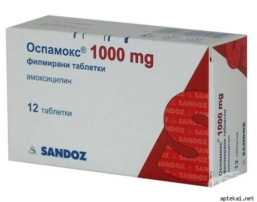 Оспамокс - купить, цена в аптеках, аналоги, отзывы, инструкция по применению - поиск лекарств