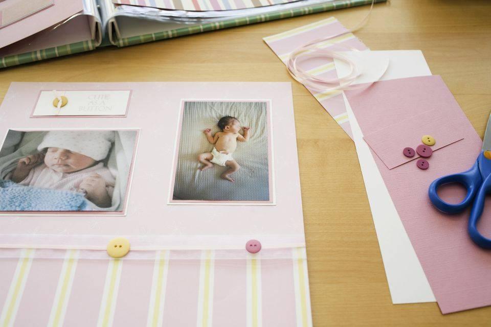 Что сохранить на память о первых месяцах жизни малыша?
