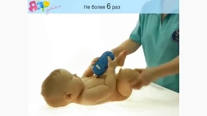 Массаж стоп ребенку: что нужно знать?