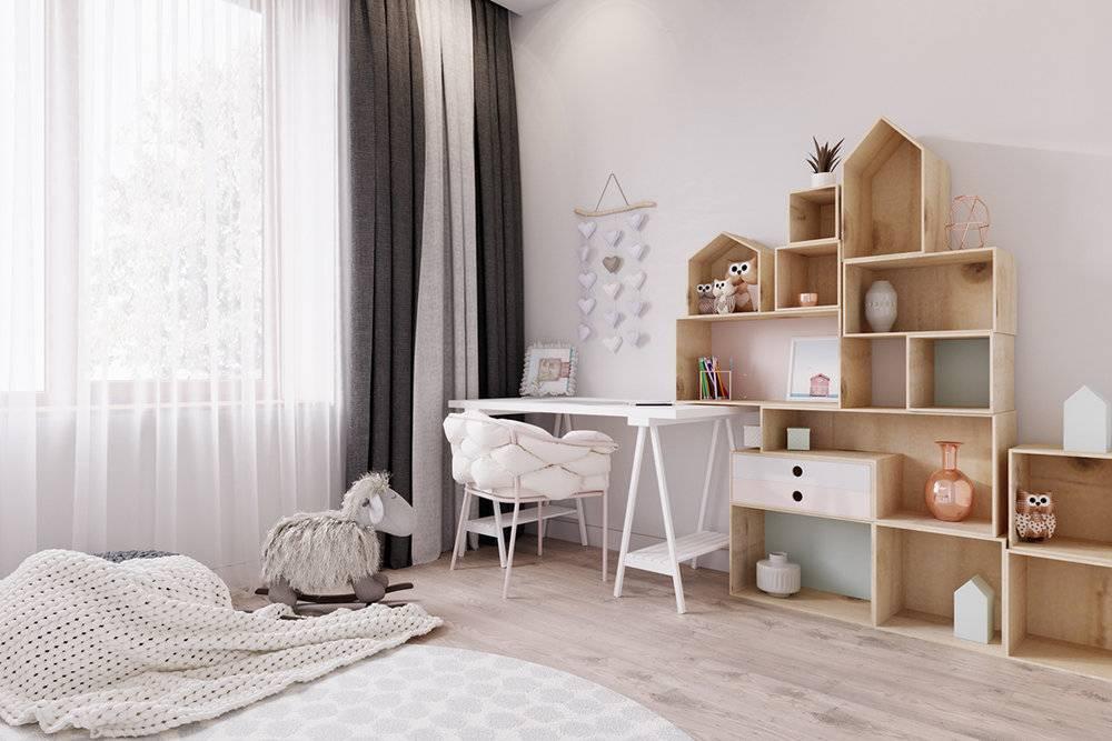 Дизайн квартиры в скандинавском стиле: оформление интерьера гостиной, кухни, спальни, детской, ванной в скандинавском стиле