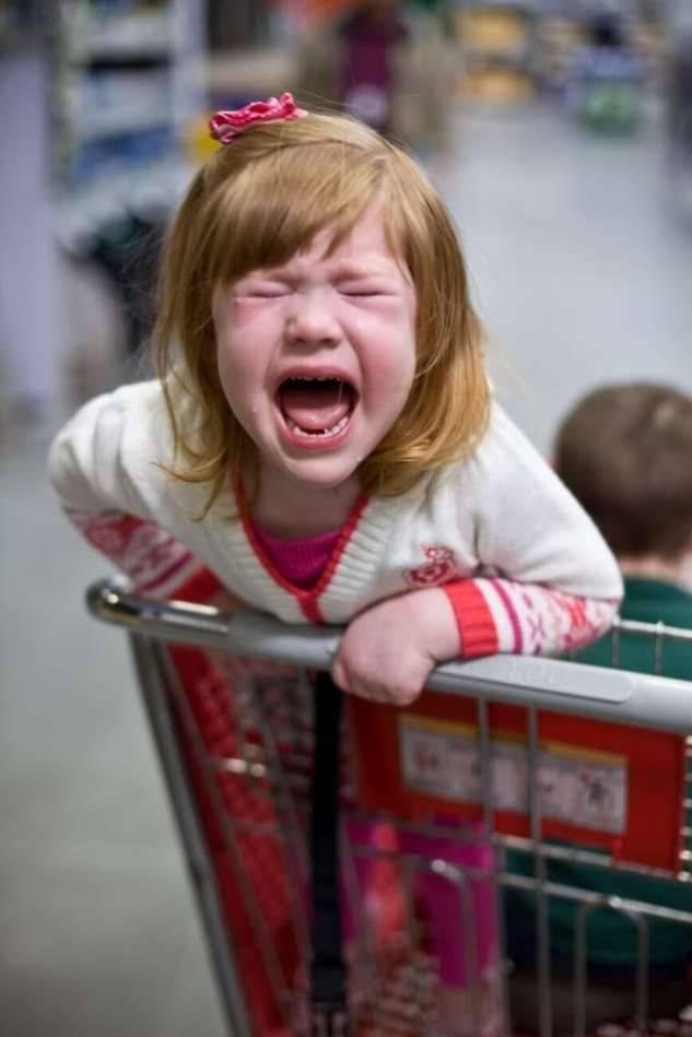 Ребенок закатил истерику в магазине. что делать? мнения психологов