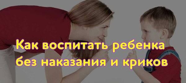 Принципы правильного воспитания: как воспитать ребенка без криков и наказаний