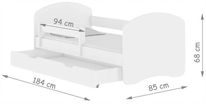Размеры детских кроватей