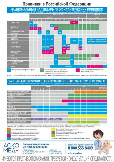 Изменения в календаре профилактических прививок в 2021 году   кронколит