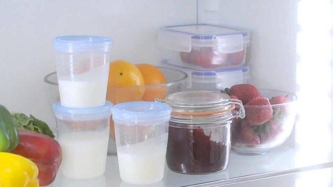 Как можно замораживать грудное молоко, в чем это делать и сколько хранить