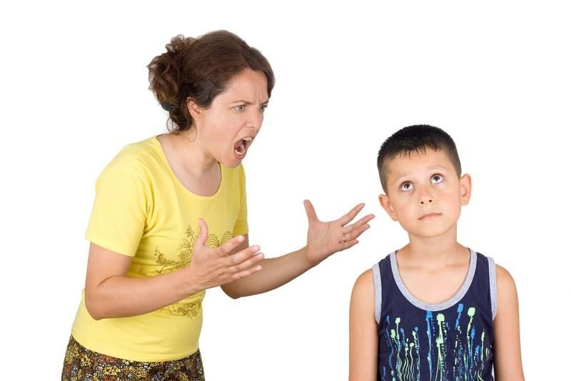 Как перестать кричать на ребенка - советы психолога