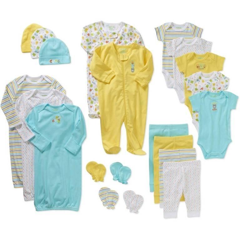 Что купить для новорожденного: список вещей на первое время. одежда и подгузники для новорожденных