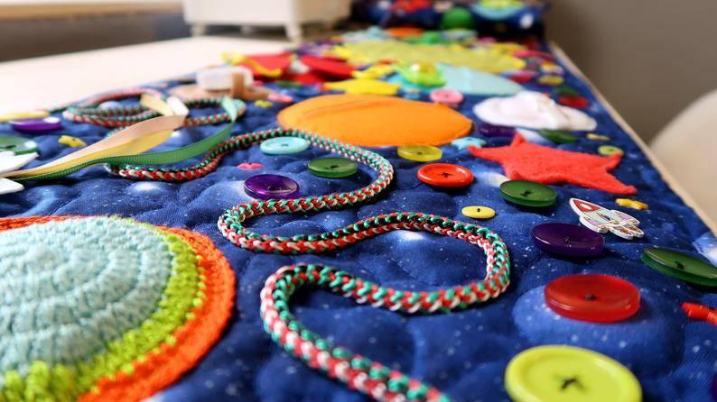 Ортопедические коврики для детей своими руками