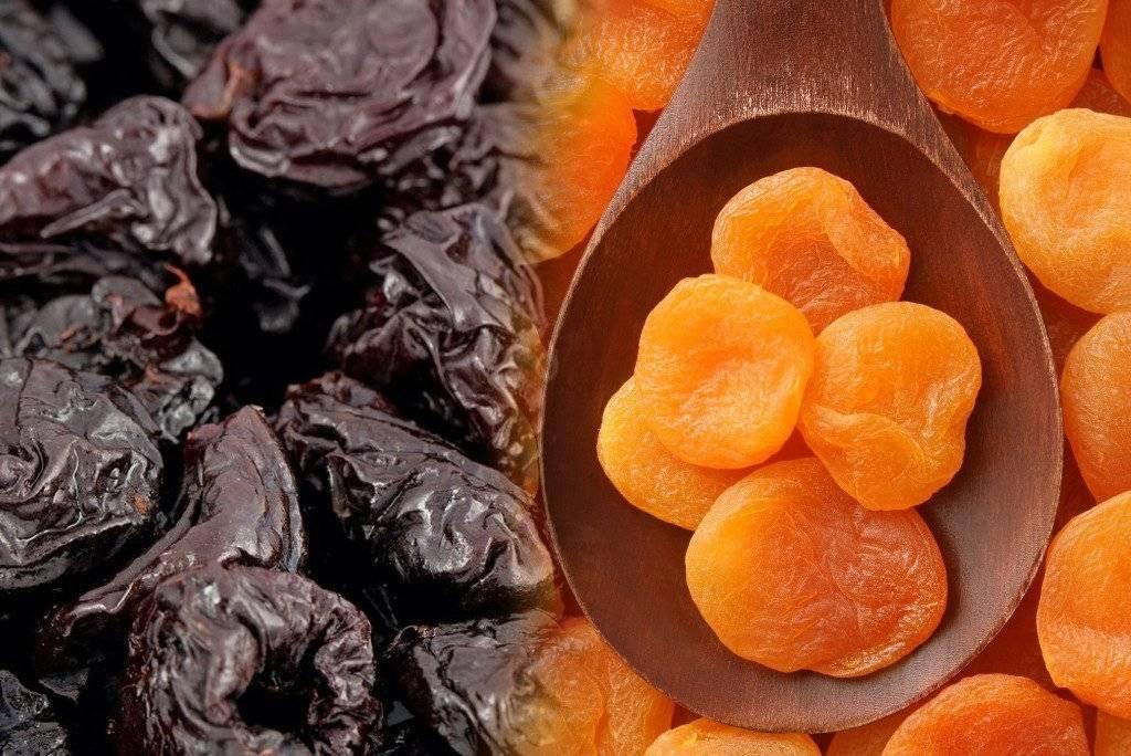Сухофрукты и орехи при грудном вскармливании