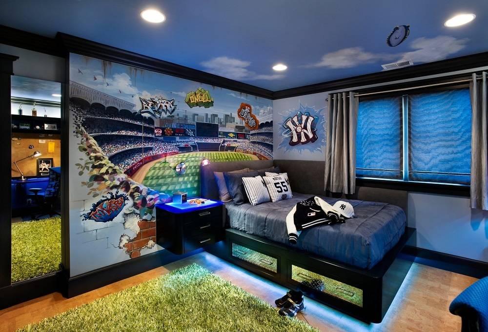 30 современных идей интерьера комнаты подростка