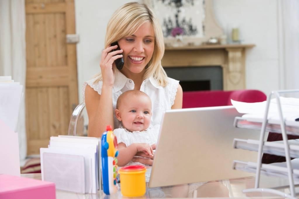 Заработок для мам в декрете на дому: идеи, перспективы