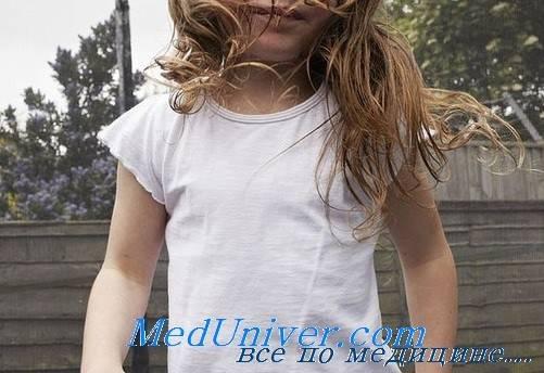 Заболевания молочных желез у девочек