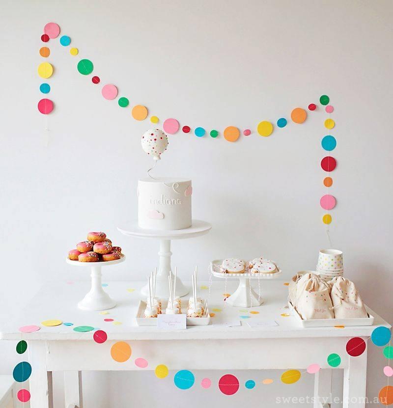 Фото идей оформления детского дня рождения: как сделать праздник незабываемым