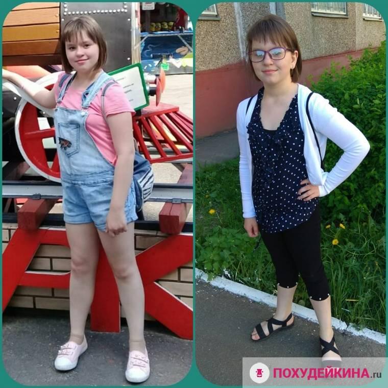 Как можно похудеть девочке в 12 лет