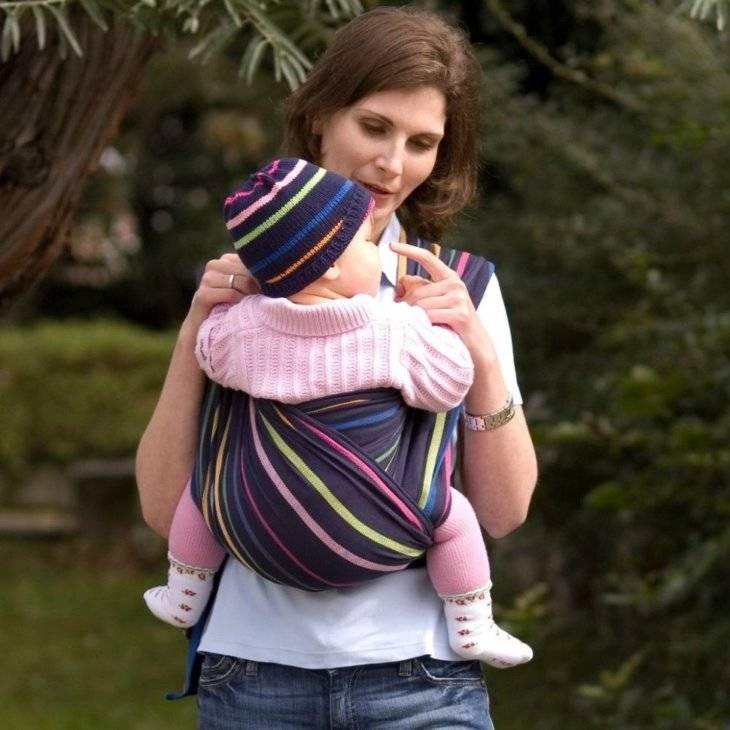 Слинг-шарф: учимся правильно выбирать и использовать самый популярный слинг