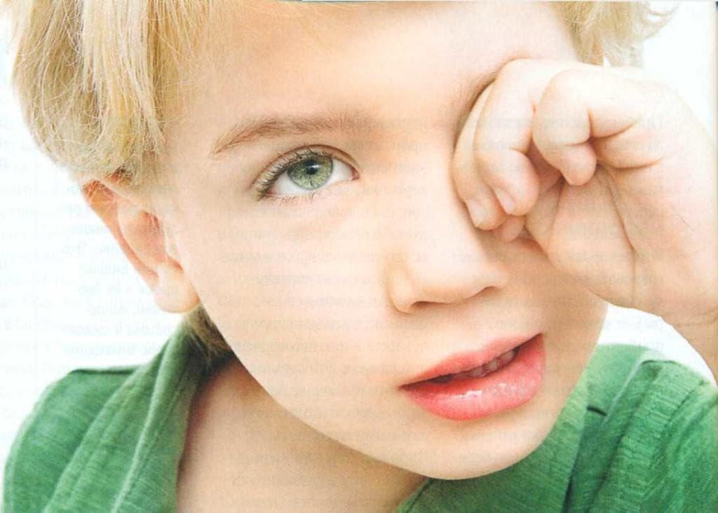 Сильное моргание глазами у детей причины лечение