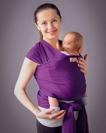 ➤ слинг для новорождённого